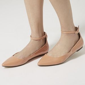 Topshop saloon pointed toe flats size 9.5